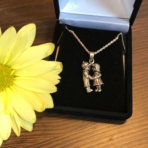 Jewelry - Sterling Silver Boy/Girl Necklace